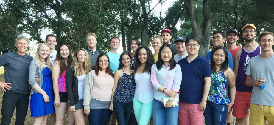 team at Napa retreat