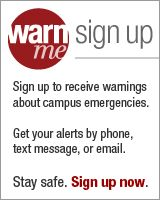 sign up for WarnMe