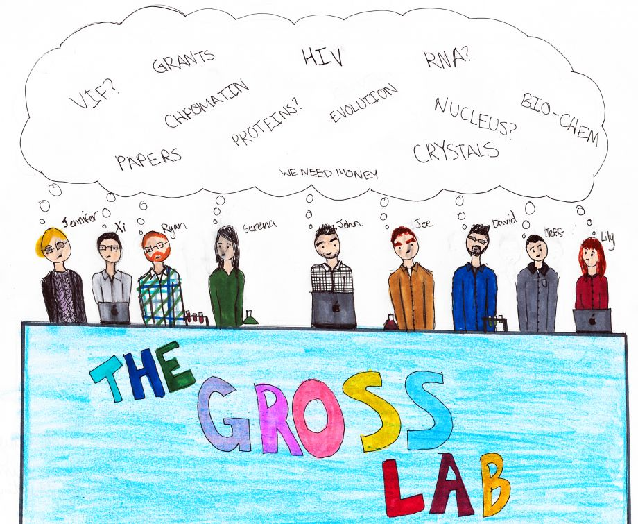Gross lab cartoon