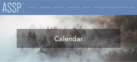 ASSP Calendar
