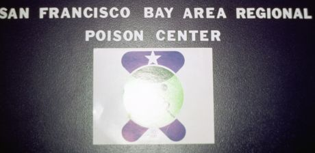 sign: San Francisco Bay Area Regional Poison Center