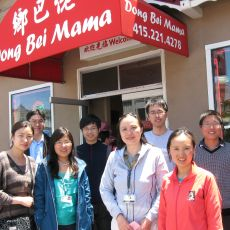 group photo at Dong Bei Mama