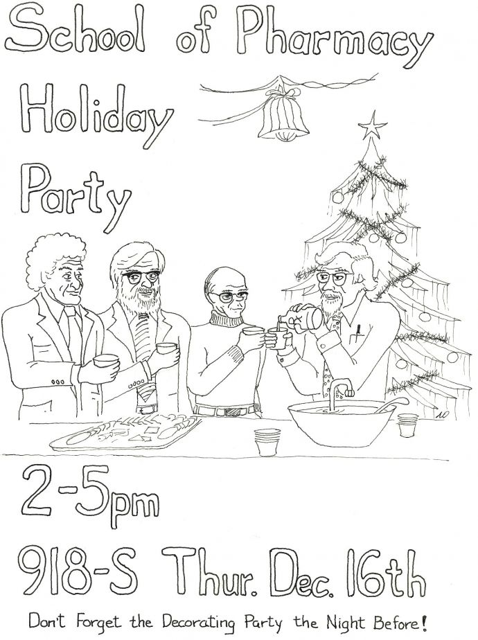 Poster Holiday Party